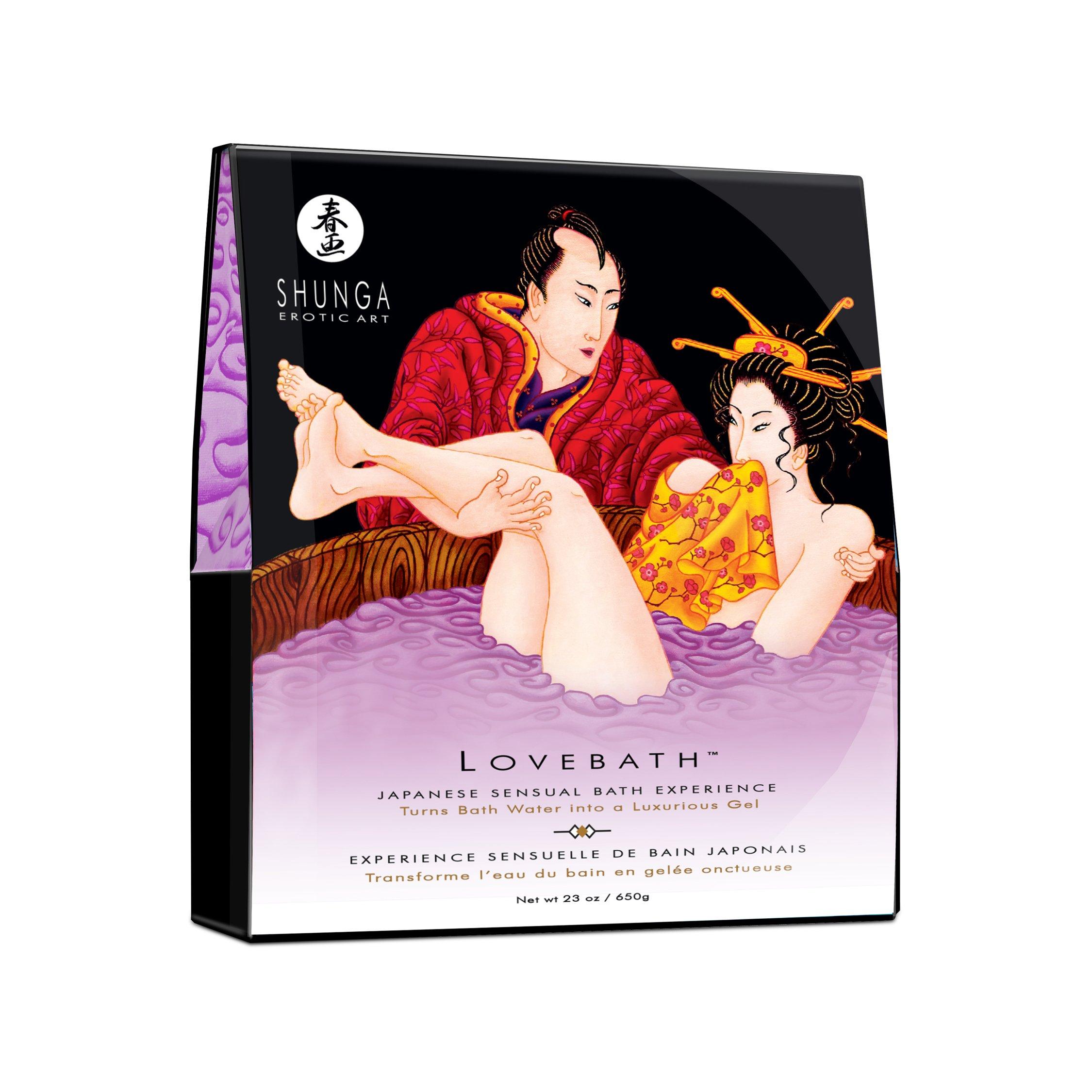 Lovebath Sensual Lotus ( 3 Pack ) by Shunga by Shunga