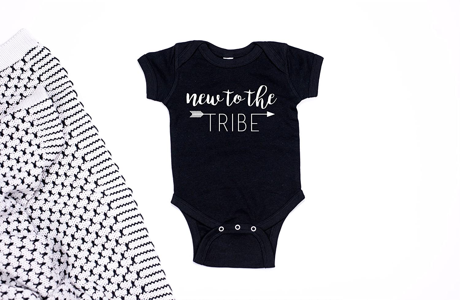 New to the Tribe Baby Bodysuit - Baby Apparel - Baby Clothes - Baby Onesie - Baby Shower Gift - Baby Gift - Unisex Baby Bodysuit - Tribal