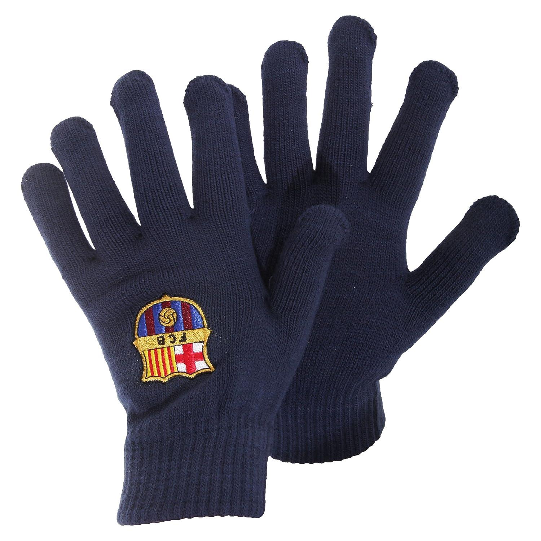 Adult Barcelona Kintted gloves Barcelona Fc 9292