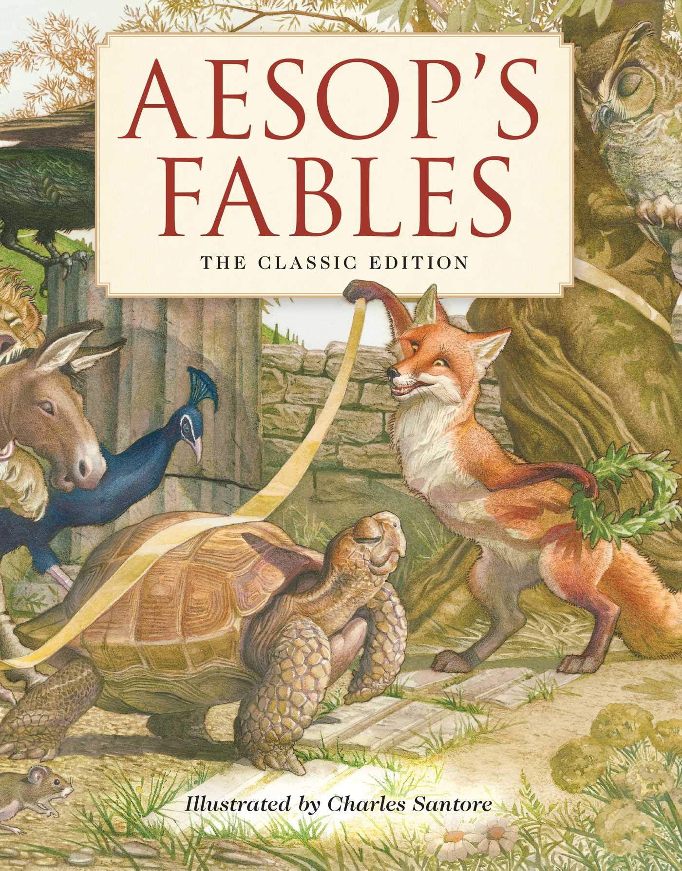 Aesops Fables Classic Charles Santore product image