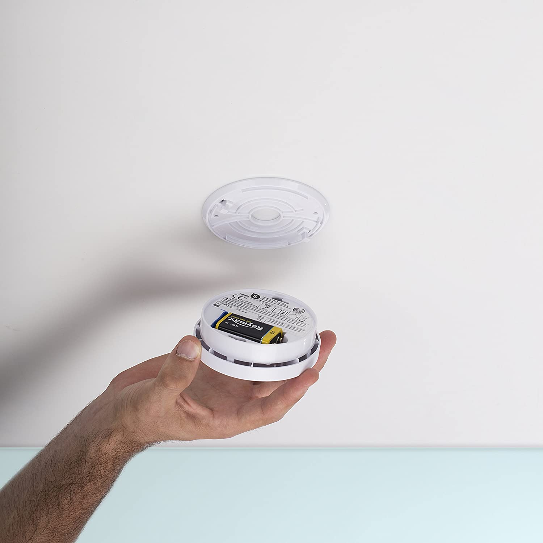 Smartwares RM149 Optical Smoke Detector BSI Certified 1 Year Battery