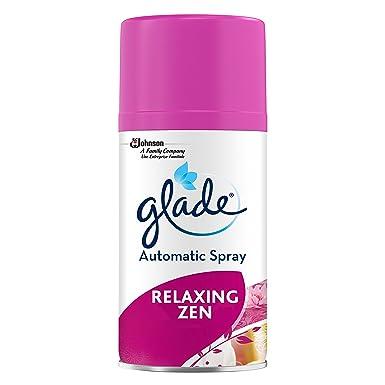 Glade Automático Spray Nachfüller para Dispensador aromas con De relajación Zen Aroma(269ml Caja)