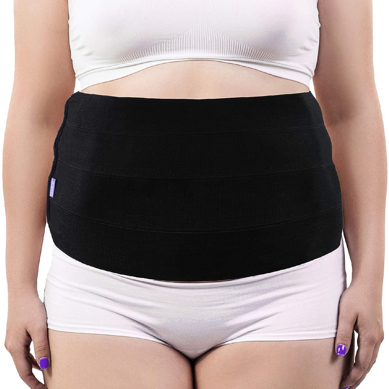 Everyday Medical Plus Size Abdominal Binder for Large Women and Men - Tummy Stomach Holder Wrap – XL-2XL-3XL Bariatric Abdominal Binder - Obesity Girdle Brace - Plus Size Lumbar Support - 2XL