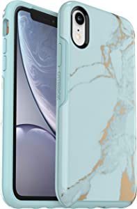 OtterBox Symmetry Series Case for iPhone XR - Non-Retail Packaging - Teal Marble