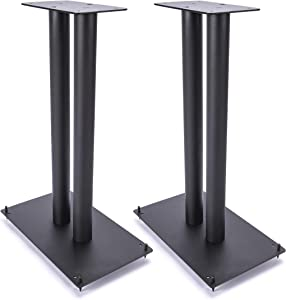 "Vega A/V Systems 24"" Heavy Duty, Steel Speaker Stands 