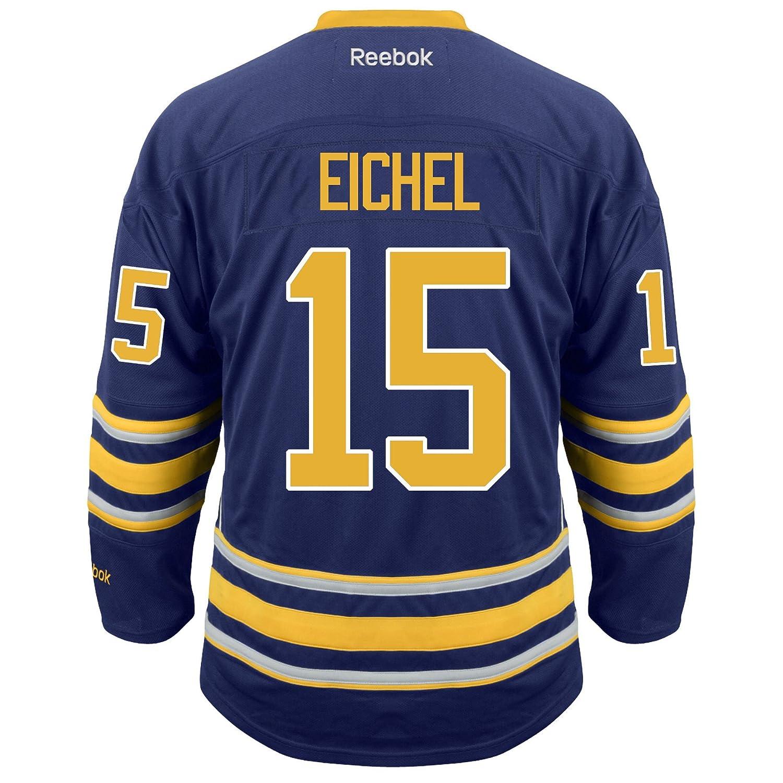 b284f6723 Amazon.com : Jack Eichel Buffalo Sabres Reebok Premier Replica Home NHL  Jersey Blue : Sports & Outdoors