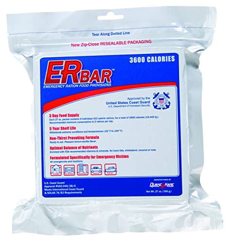 ER Emergency Ration 3600 Calorie Food Bar