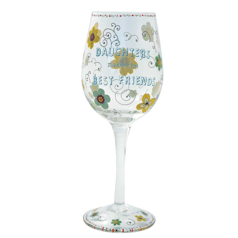 Haight Ashbury Daughter Wine Glass Enesco 127131