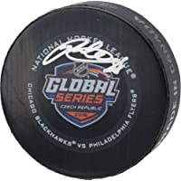 $109 » Patrick Kane Chicago Blackhawks Autographed 2019 NHL Global Series Official Game Puck - Fanatics Authentic Certified