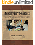 Raspberry Pi Python Projects: Pyhton3  Tkinter/Ttk, Clock,Temperature, Tactile, Ultra Sonic & Color Sensor, Servo, Stepper, DC Motor, Infrared Detector, ... Follow, Thumb Joy Stick, Two Wheel Balance