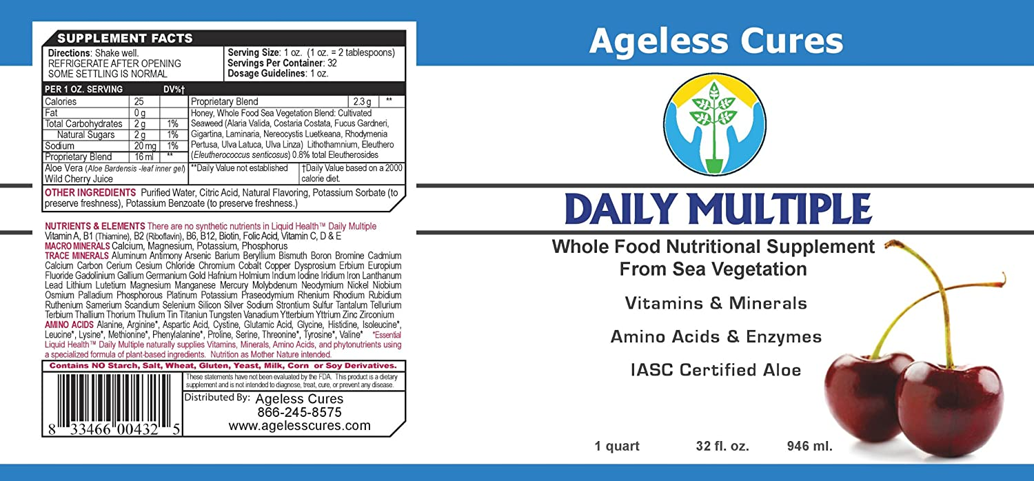 Amazon.com: Daily múltiples Whole Food Supplement desde el ...