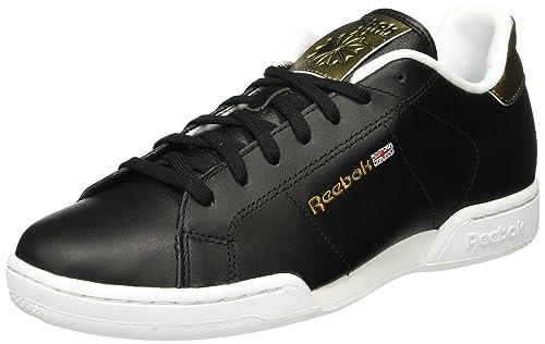 fc9ebb7461 Reebok Herren NPC II Metallics Sneakers Schwarz (Black/Antique Copper) 42 EU