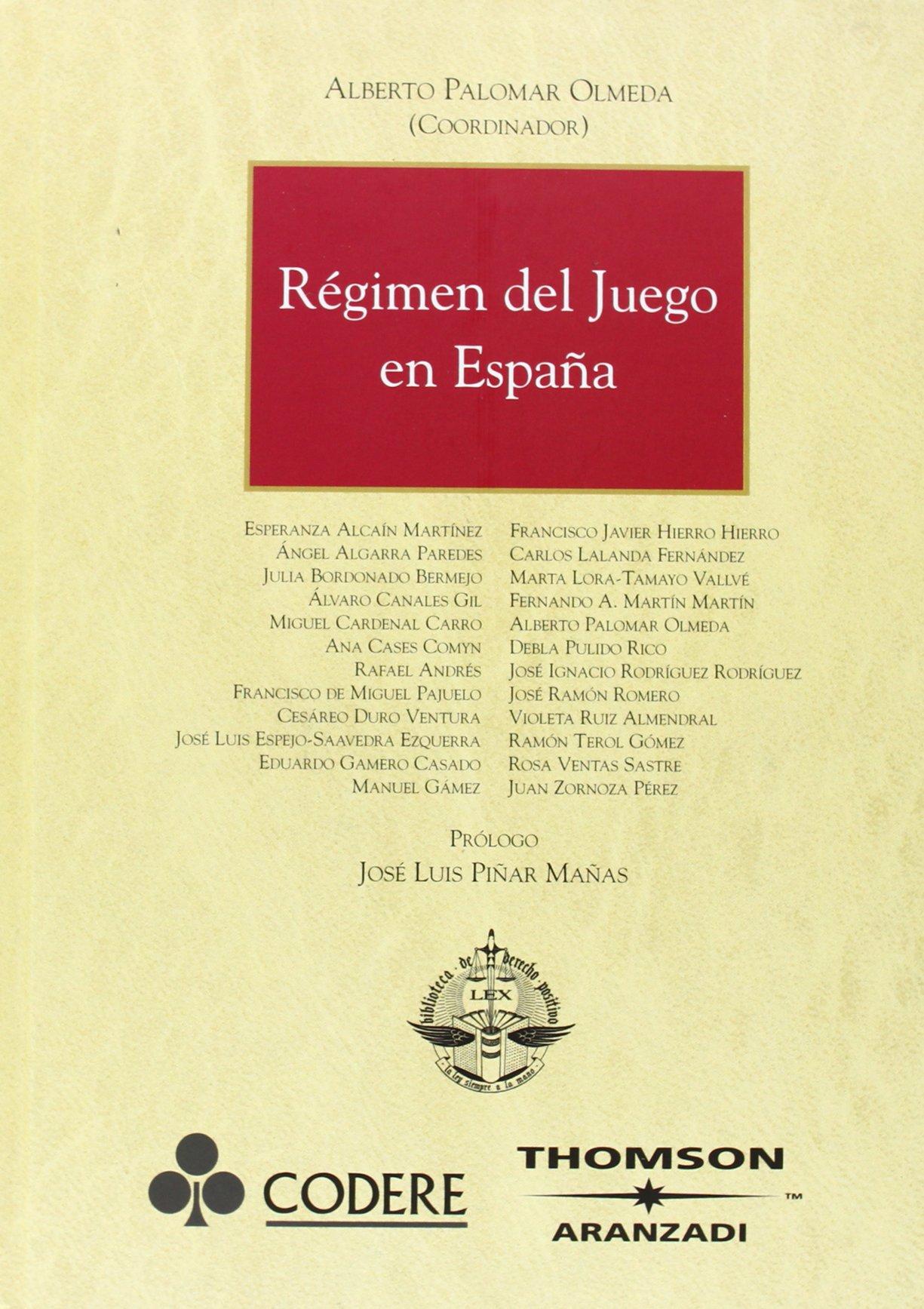 Régimen del Juego en España (Gran Tratado): Amazon.es: Cardenal ...