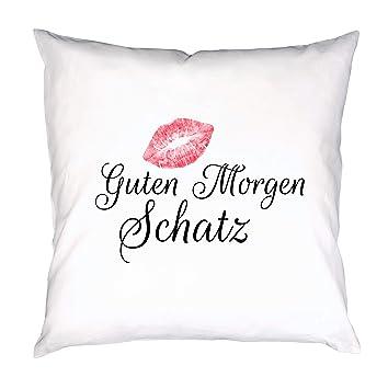 Foto Premio Kissen Mit Spruch Guten Morgen Schatz Deko