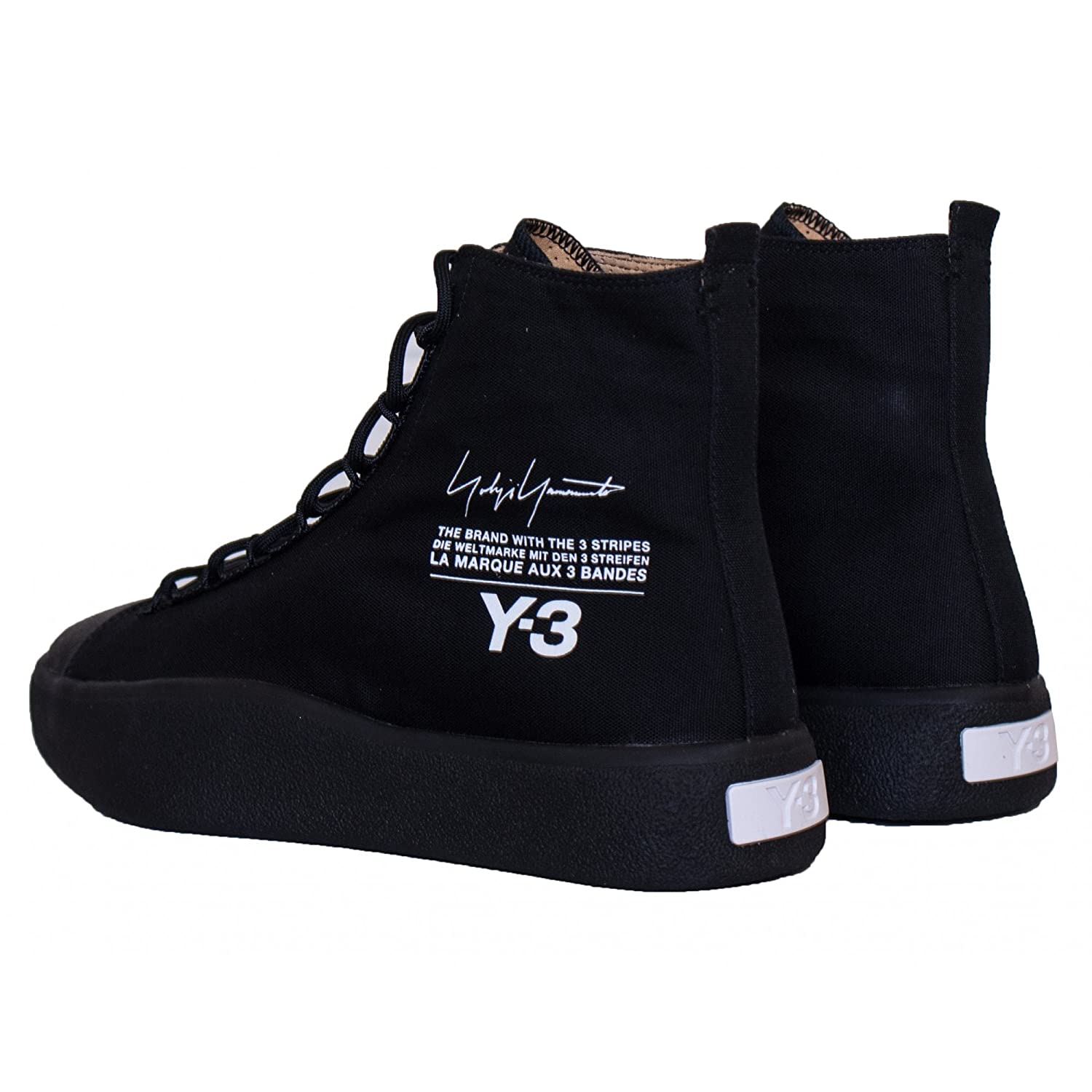 free shipping 0363e 6477b adidas Y-3 Bashyo Black UK 10: Amazon.co.uk: Shoes & Bags