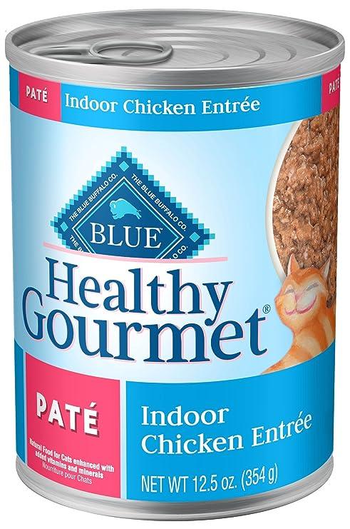 Amazon Blue Healthy Gourmet Adult Pate Indoor Chicken Wet Cat