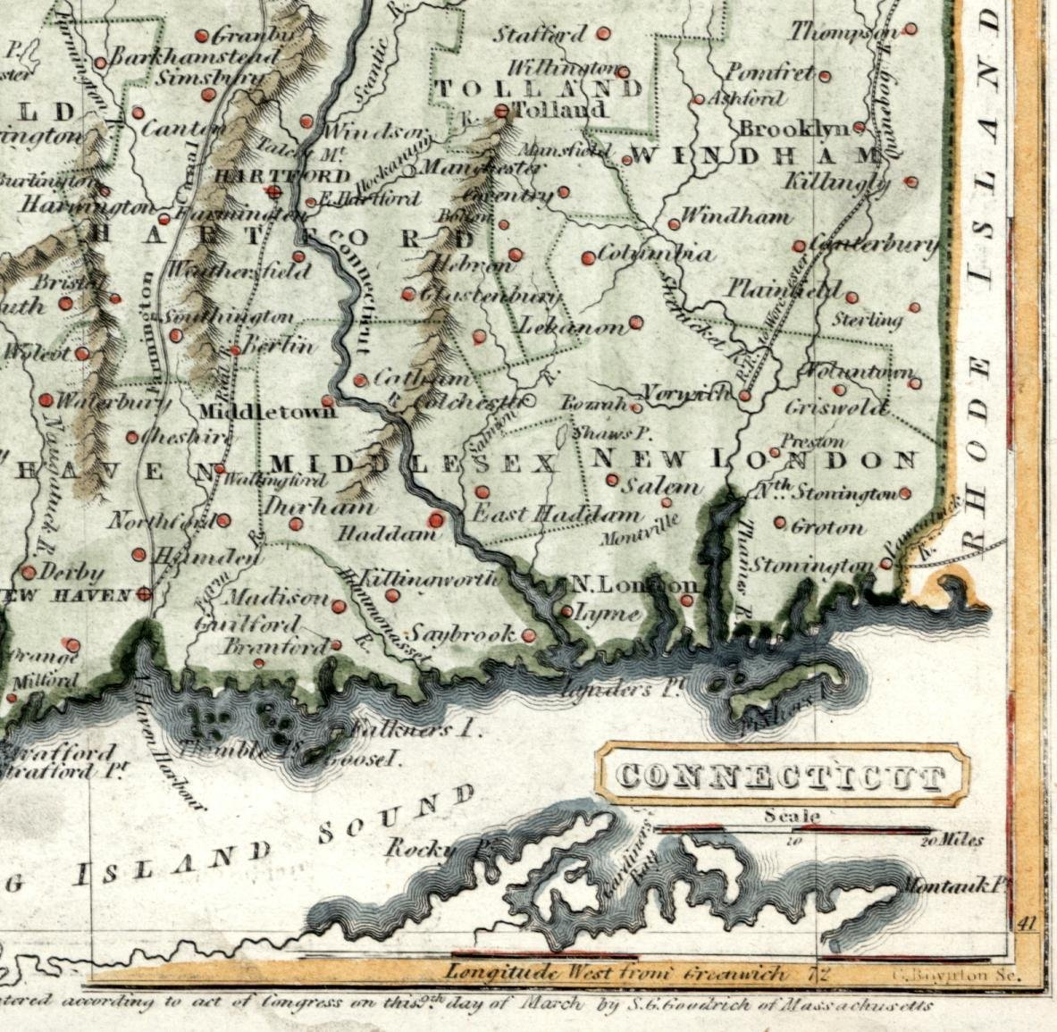 Amazon.com: Connecticut state c.1840 census potion ... on map of colchester ct, map of vernon rockville ct, map of southington ct, map of union ct, map of carolina pr, map of thompsonville ct, map of long island sound ct, map of connecticut, map of state of ct, map of windsor ct, map of north granby ct, map of mohegan sun ct, map of north haven ct, map of hamburg ct, map of wauregan ct, map of boston ct, map of stonington borough ct, map of webster ct, map of gaylordsville ct, map of woodbridge ct,