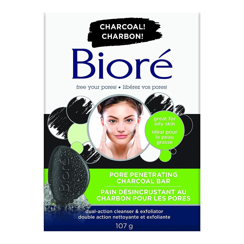 Bioré Pore Penetrating Charcoal Bar 107 g KAO
