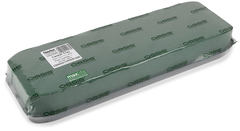 Oasis Steckschaum-Sargauflage mit Plastikunterlage, 60 cm OASIS® Floral Products 3073