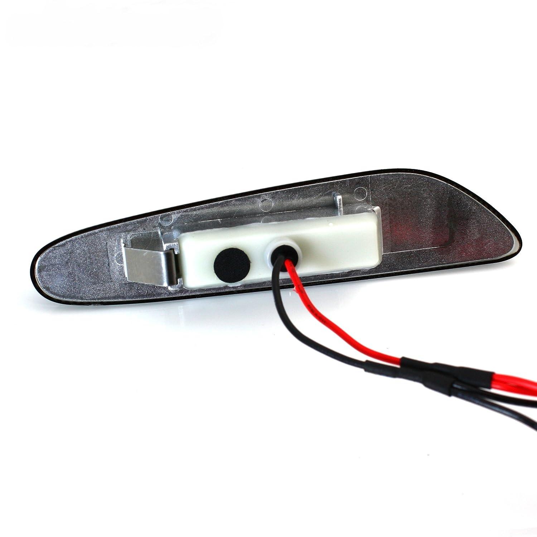 B2 BMW E81 E87 E82 E88 E90 E91 E92 Clear LED Side Marker Lights