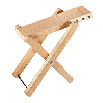 Sports & Entertainment Stringed Instruments Just Foldable Guitar Foot Rest Stool Pedal Wooden 4-level Adjustable Height Beech Wood Material Acoustic Guitar Accessories