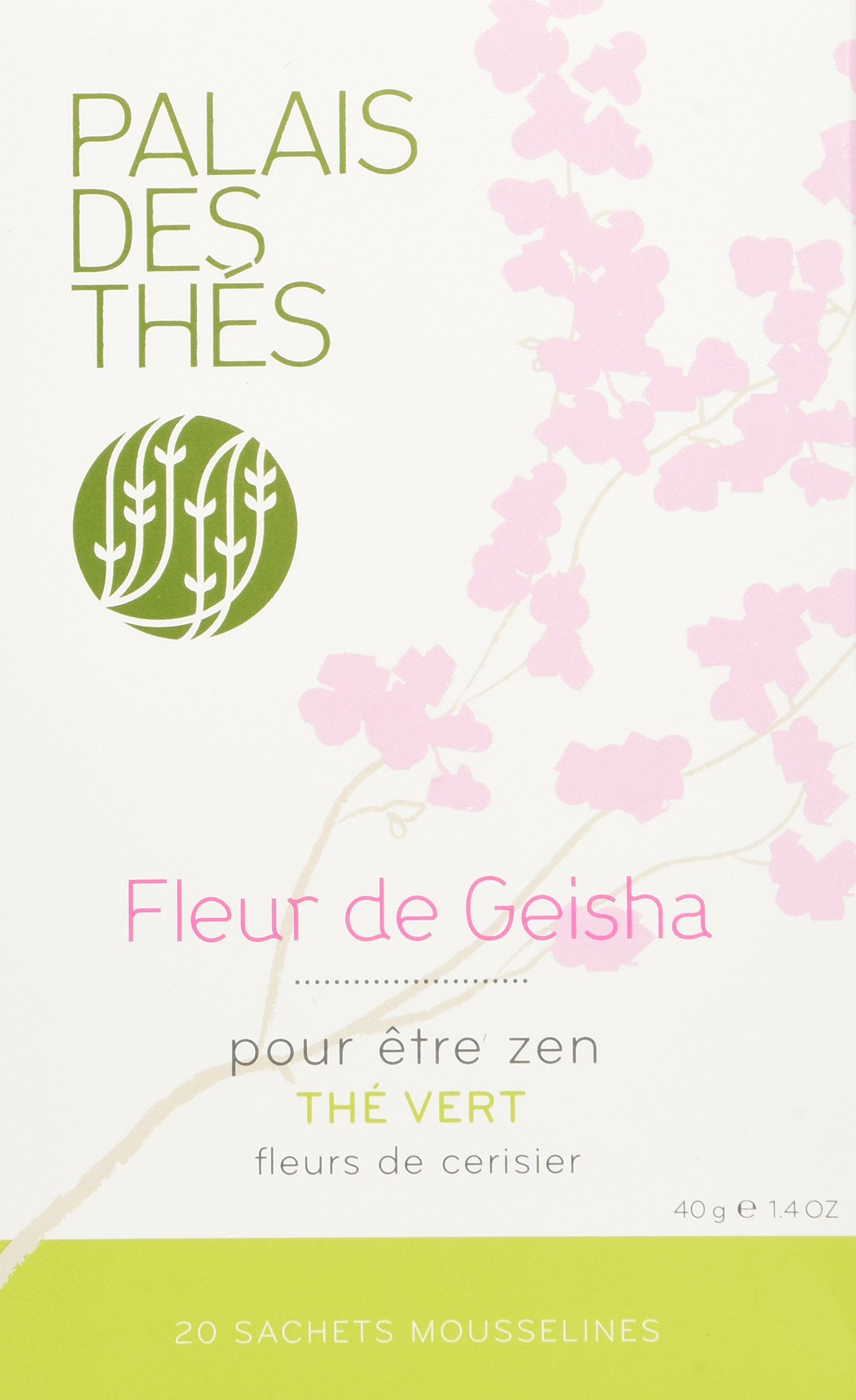 Très Amazon.com : Palais des Thés Thé de Hammam Green Tea with Sweet  BD33