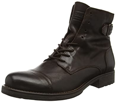 Jfwsiti Boots Leather Jackamp; Herren Jones Combat KFJ1Tl3c