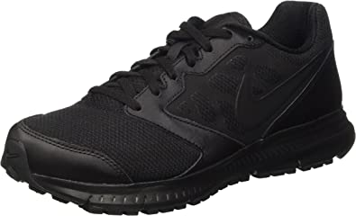 nike downshifter 6 black leather