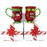 Temp-tations Set of 2 Mugs Winter Whimsy Coffee Mug Set