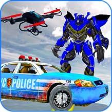 Air Drone Robot Transform Battle- Best Robots war free games