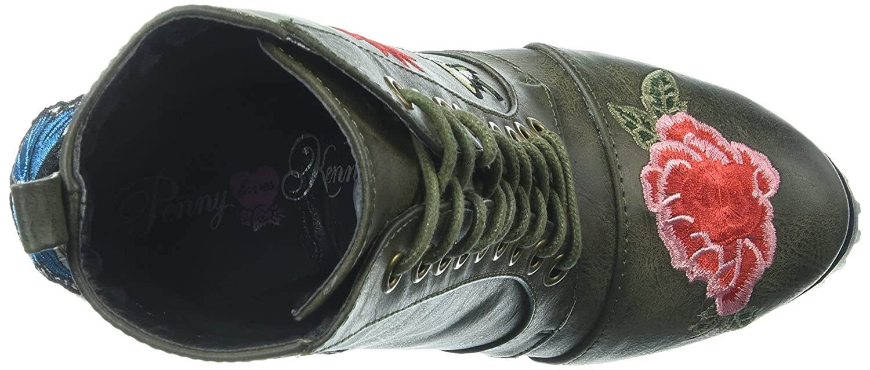 Penny Loves Kenny Frauen Stiefel Stiefel Stiefel Grün 58912a