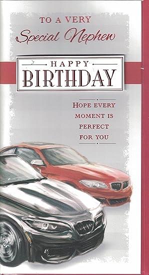 Nephew Birthday Card Happy Birthday Nephew Have A Super Day Red
