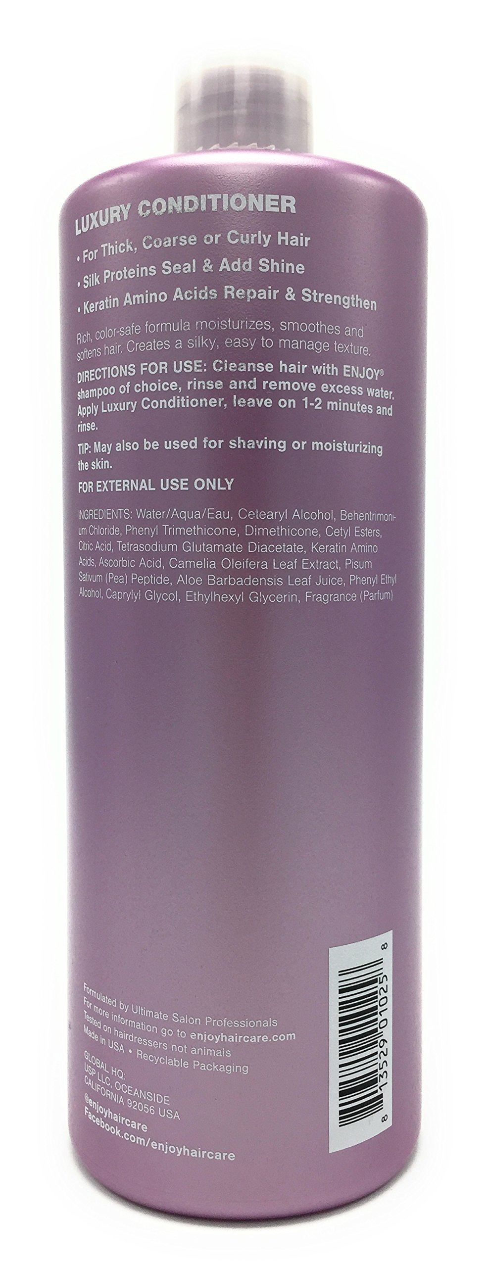 Enjoy Luxury Conditioner, 33 Ounce by Enjoy (Image #2)