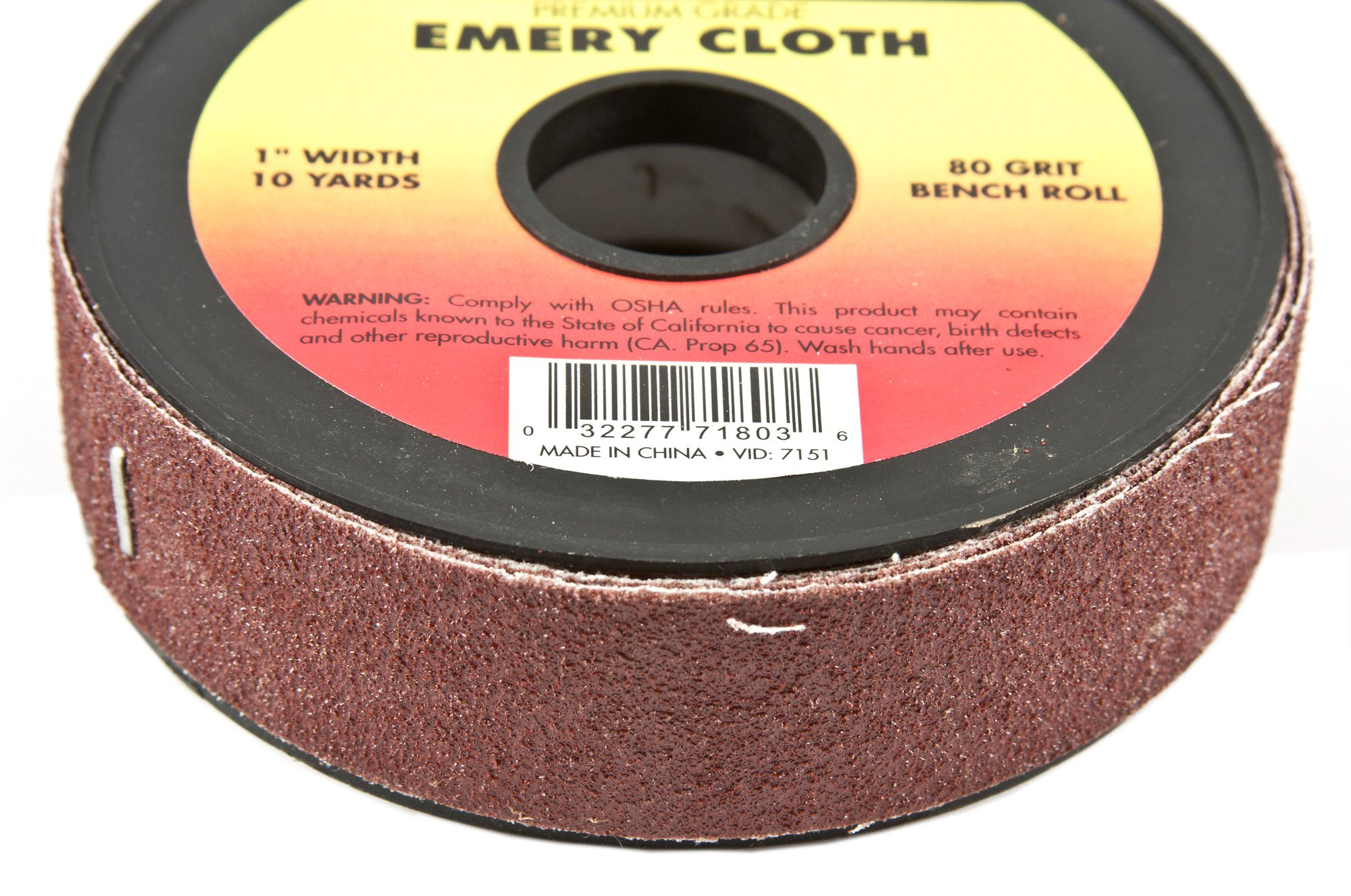 Forney 71803 Emery Cloth, 80-Grit, 1-Inch-by-10-Yard Bench Roll by Forney (Image #4)