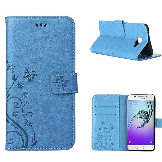4 opinioni per MOONCASE Galaxy A3 (2016) Custodia in pelle Protettiva Flip Cover per Samsung