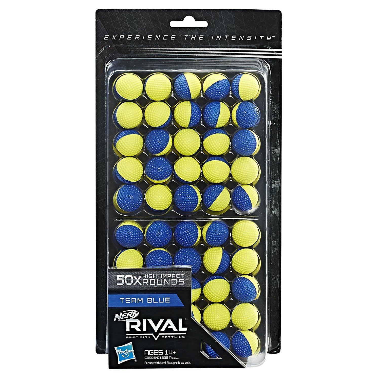 NERF Rival 50 Round Refill Pack Team Red ナーフライバル ラウンドリフィルパックチームレッド 50ボール [並行輸入品] B0757DJBN2