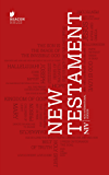 NIV New Testament (New International Version) (English Edition)
