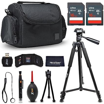 Premium Accessories Bundle/Kit for Nikon D7500 D750 D3400 D3300 D3200 D5500  D5300 D5200 D5100 D5000 D7200 D7100 D7000 D610 D600 D60 - Includes 32GB