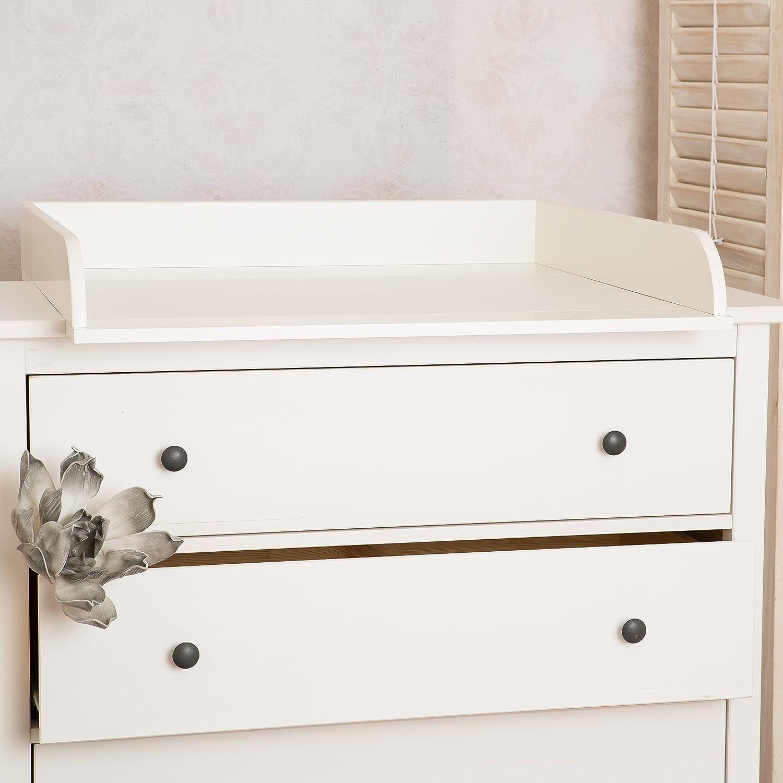 Kommode ikea hemnes  Extra Rundkante H! Wickelaufsatz, Wickeltischaufsatz für IKEA ...