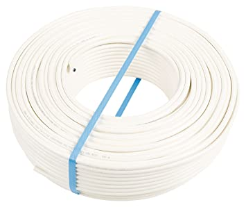 Eurosell coaxial Cable coaxial de antena – Rollo 100 m – KOKA 9 TS 7.0 mm