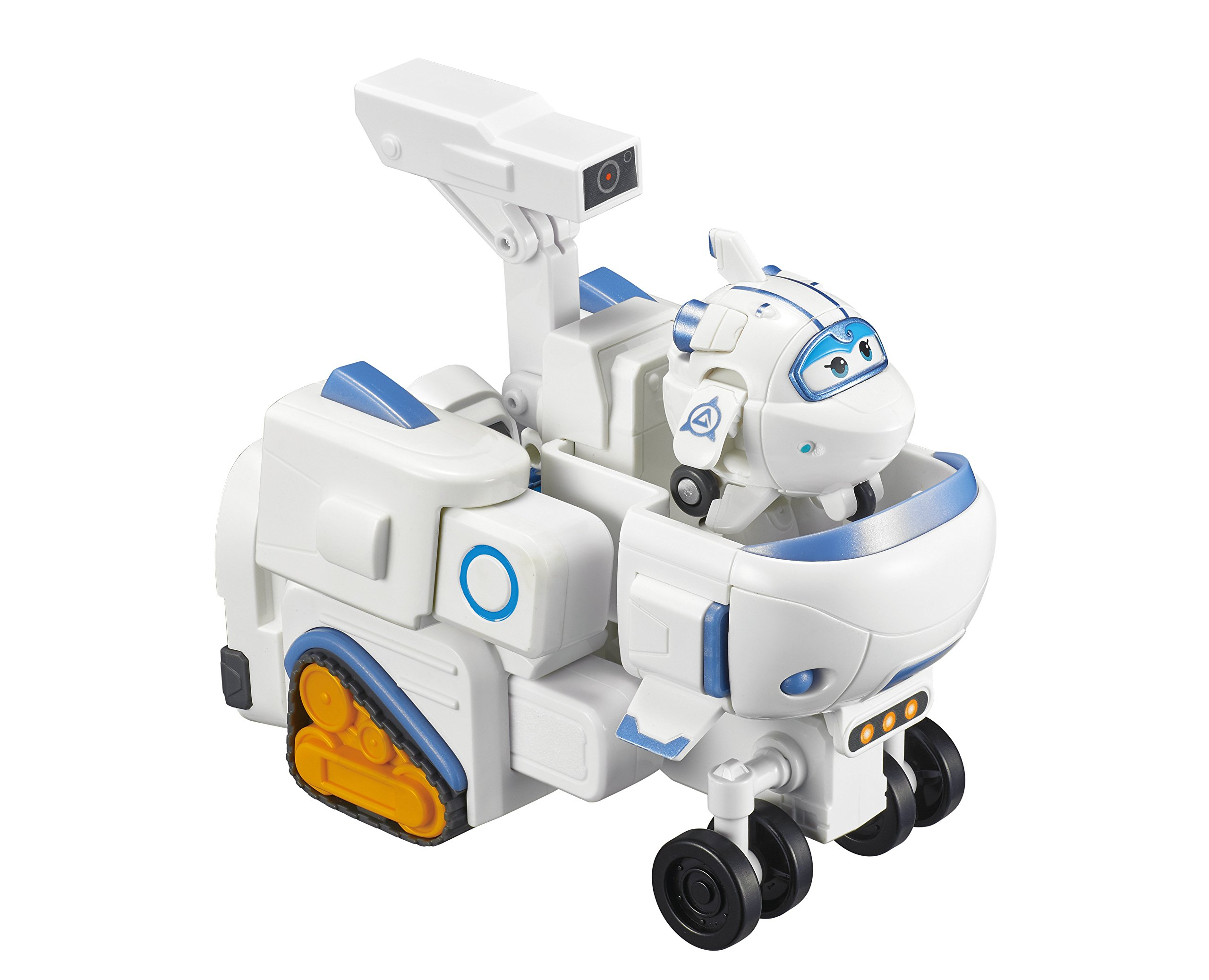 Super Wings - - Astra's Robo Rover | Transforming Toy Vehicle Set | Includes Bot Figure | , 2'' Scale