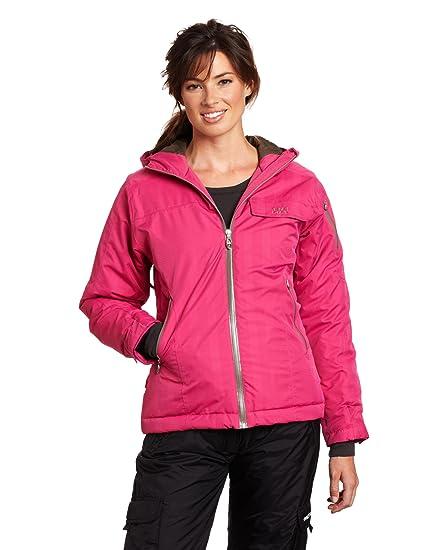 W L De Veste Amazon Helly Femme Blanche Pink Jacket Ski Hansen Hot 6wav5