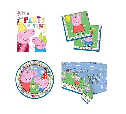 Amazon.com: Peppa Pig & George Carnival Theme - Juego de 4 ...