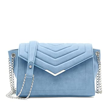 LaBante - Bolso Bandolera Mujer - Kensington - Bolso Azul Bolso pequeño Mujer Bolsos Clutch  
