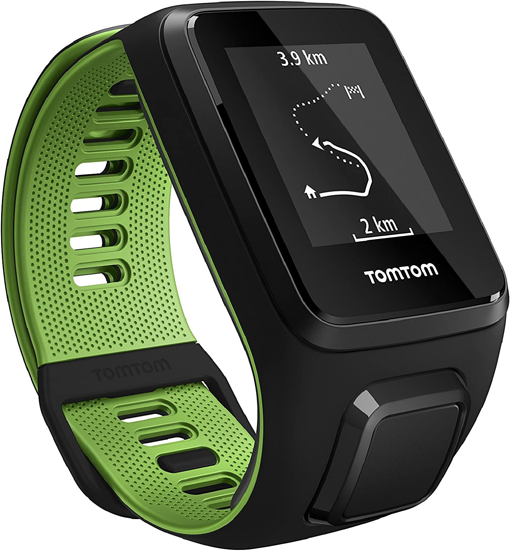 TomTom Runner 3 Cardio+Music, Reloj cardio y música, Negro/Verde ...