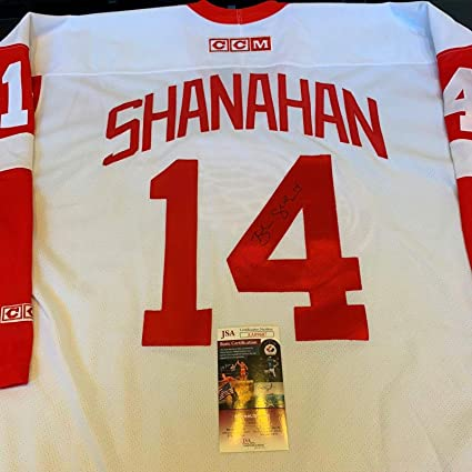 b8fd73568 Image Unavailable. Image not available for. Color  Brendan Shanahan  Autographed Jersey ...