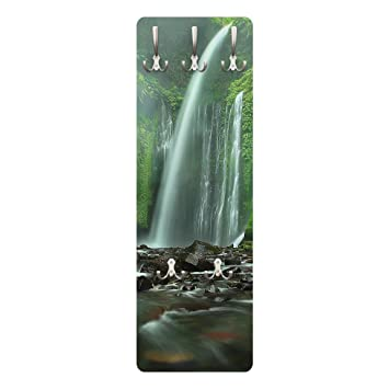 Bilderwelten Perchero - Tropical Waterfall - Slender ...