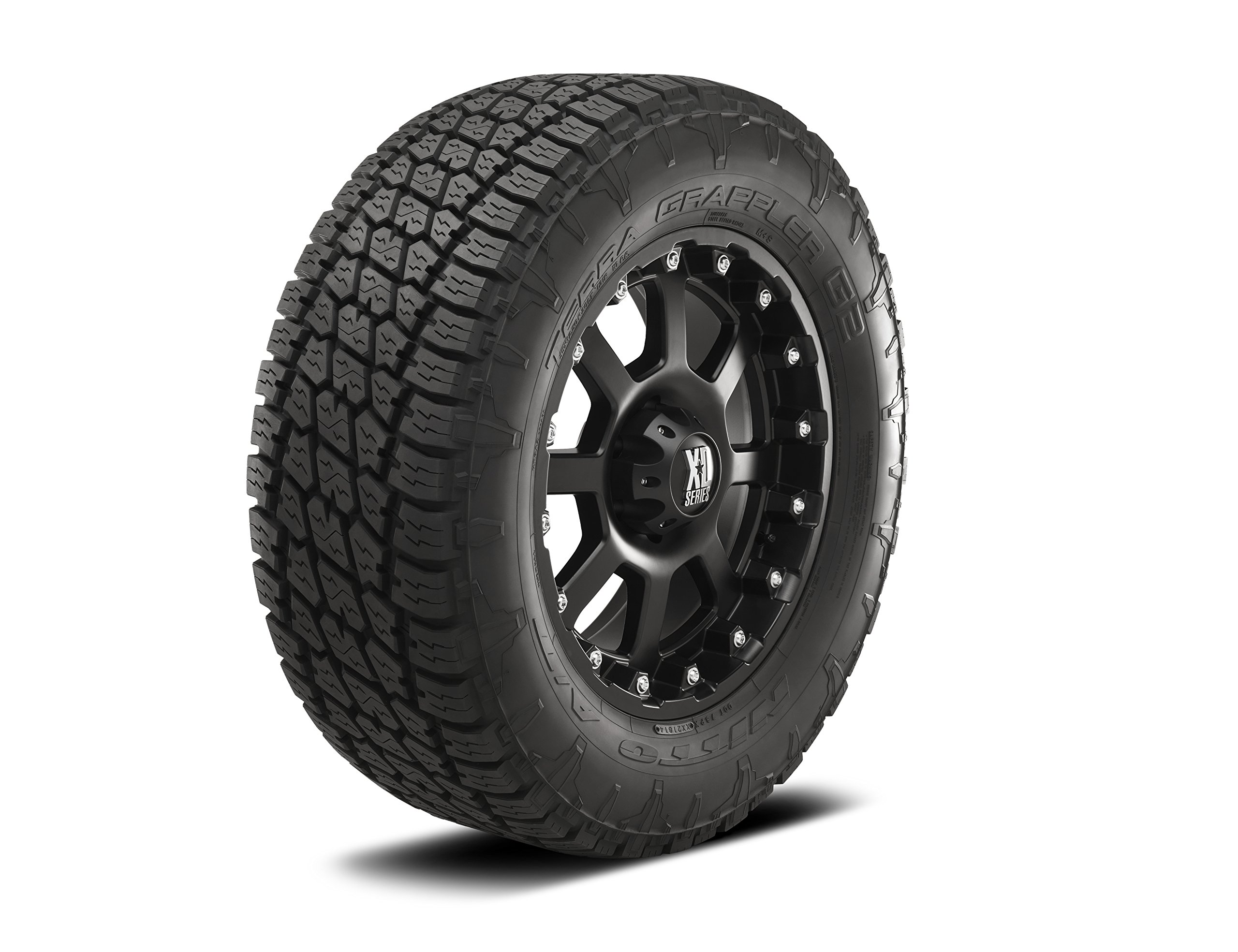 Nitto Terra Grappler G2 Traction Radial Tire - 275/55R20 117T