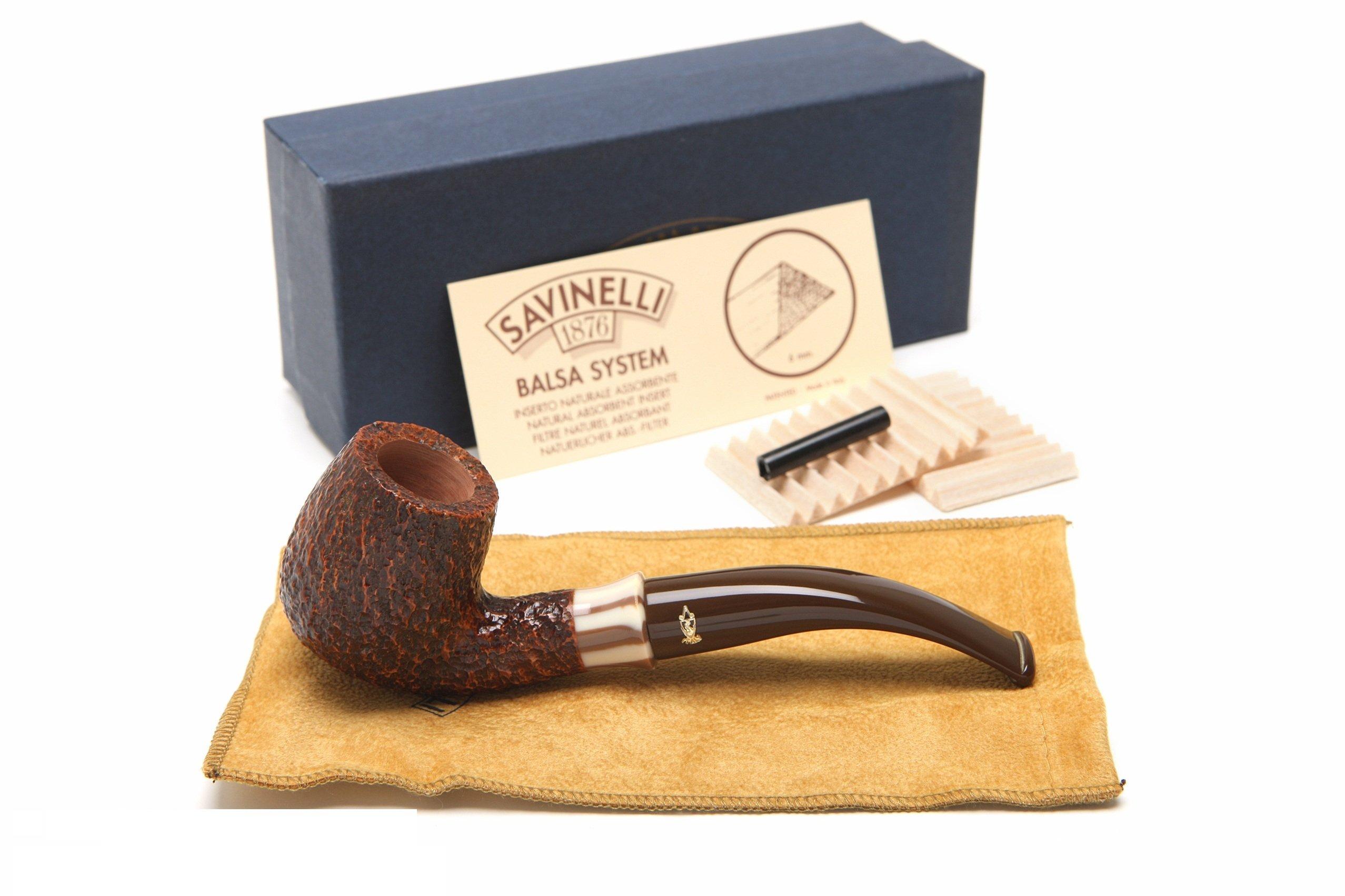 Savinelli Caramella Rustica 602 Tobacco Pipe