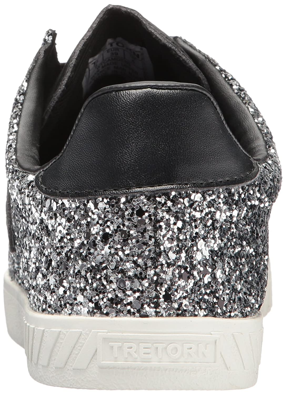 Tretorn Women's Camden5 Sneaker B072MQ3S4Z 10 B(M) US|Silver Glitter
